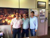 Prefeito Tupã, Presidente do Sindicato Rural Dr. Jão Jacintho e Buck Jacintho.