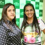 Adriana Marques e Elane Suarte cursam a pós-graduação Gestão Empresarial em Agronegócio no polo de Alexânia, GO